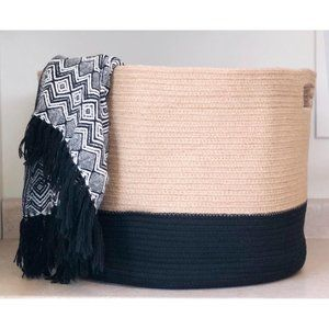 NWT Cotton Rope Storage Basket Chloe and Cotton XL